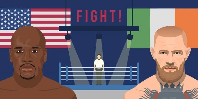 Conor McCregor vs Floyd Mayweather